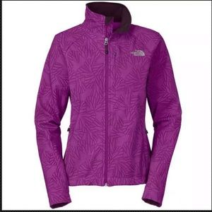 The North Face Apex Bionic Jacket Purple Floral